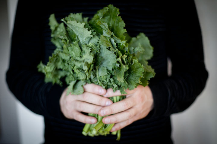 A Bunch of Broccoli Rabe