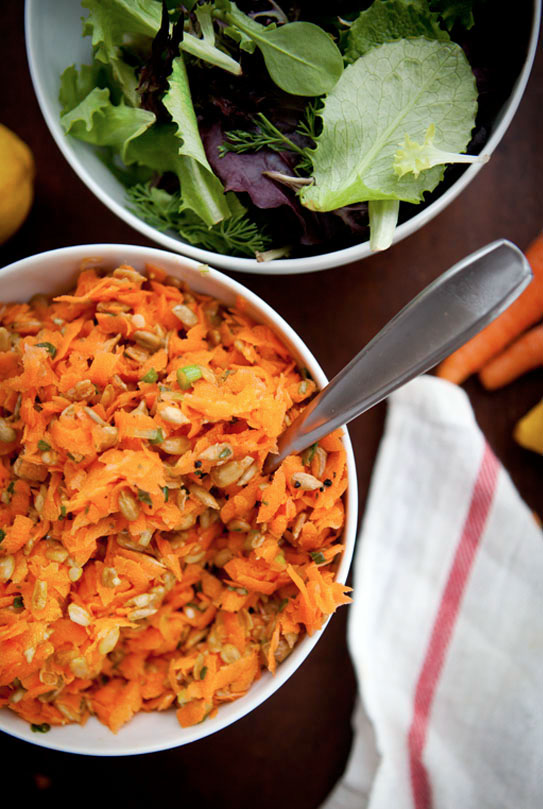 Carrot and Sunflower Seed Salad