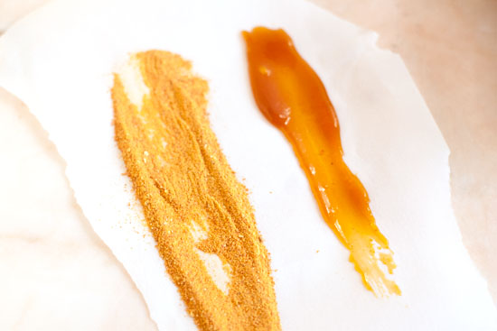 Sweet Potato Caramel and Powder