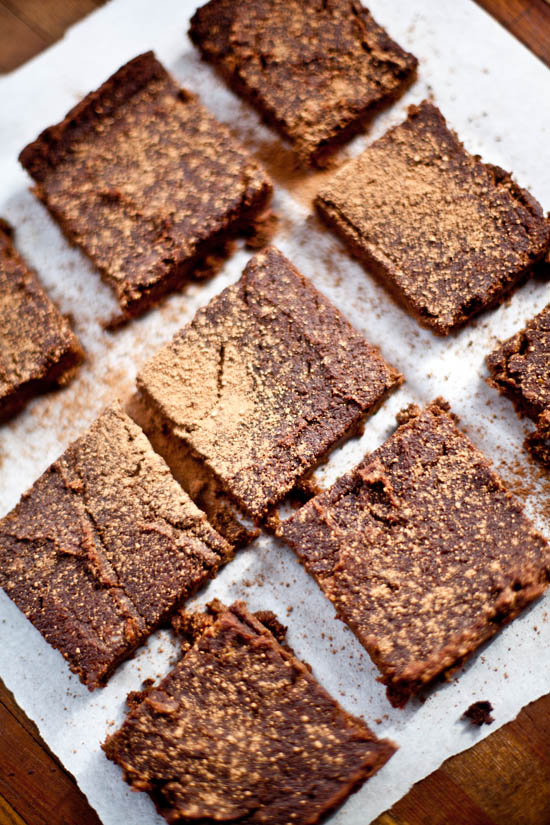 Sweet Potato Brownies | ourfourforks.com