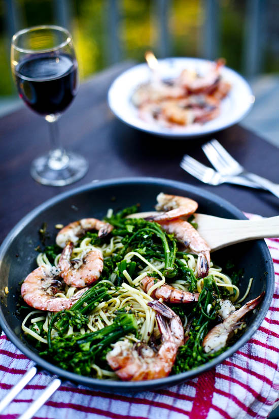 Spicy-Shrimp-Pasta-Broccolini-Finito2-ourfourforks.com