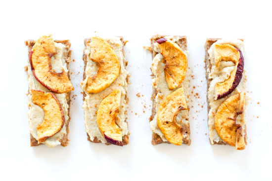 Apple Pie Bars | Vegan, Paleo, Gluten Free | ourfourforks.com