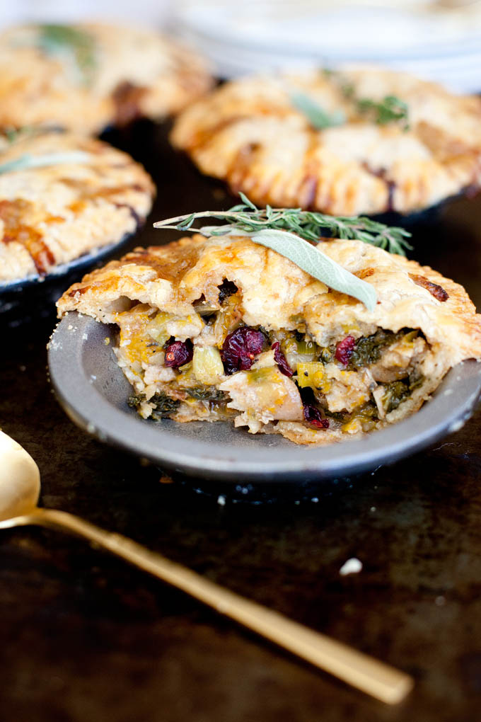 Butternut Squash Pot Pie | Our Four Forks | #vegan #glutenfree