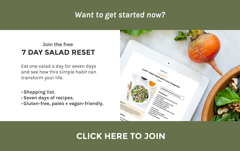 Loveleaf Co. 7 Day Salad Reset| Simplicity Through Salad